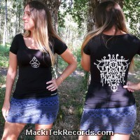 T-Shirt S Black Women Alchemy 2