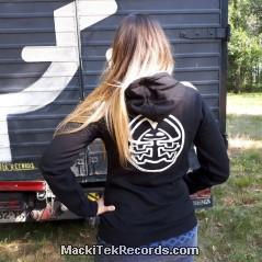 Sweat Femme Noir MackiTek 3672
