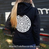 Sweat Women Black Ancient Symbol 3