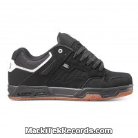 DVS Enduro Heir Black White Black Nubuck