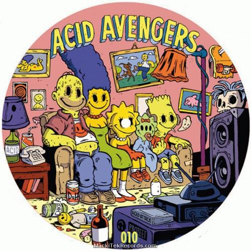 Acid Avengers Records 10