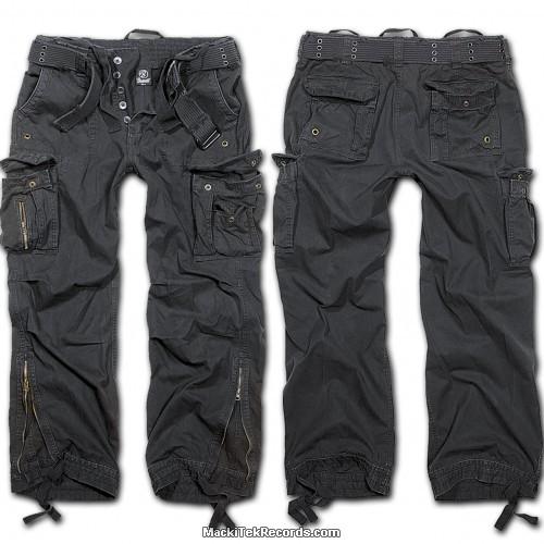 Treillis Cargo Royal Noir