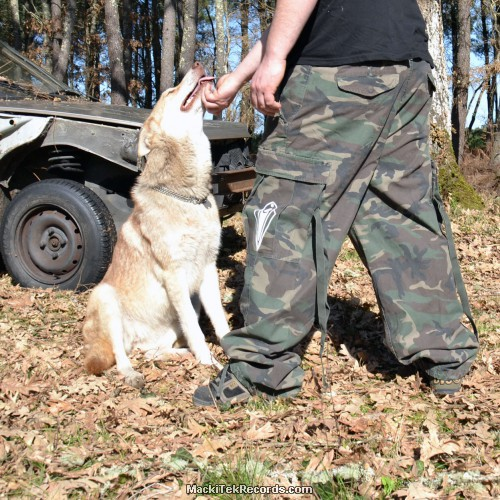 Baggy Camouflage M65 MackiTek 3