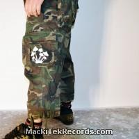 3-4 Pants Camouflage Psyl Phospho