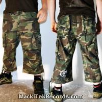 3-4 Pants Camouflage MackiTek 2