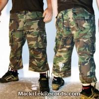 3-4 Pants Camouflage MackiTek 1