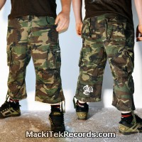 3-4 Pants Camouflage Crop Circle 08 V2
