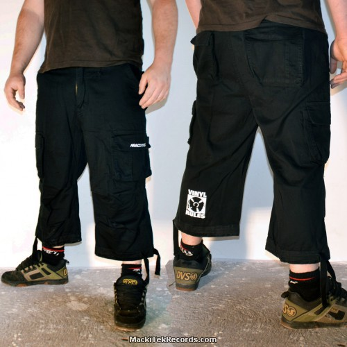 3-4 Pants Noir Vinyl Rules