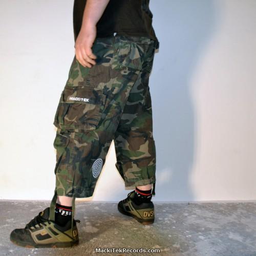 3-4 Pants Camouflage MackiTek Spiral