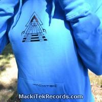 Sweat Femme Electric Blue Solar Pyramid V3