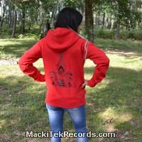 Zip Jacket Red Solar Pyramid V2