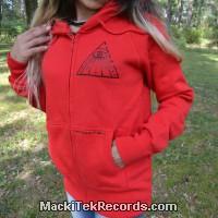 Veste Zip Rouge Solar Pyramid V2