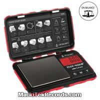 Balance Electro Tuff-100 100-0.01GR Red
