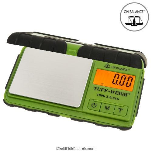 Balance Electro Tuff-100 100-0.01GR Vert