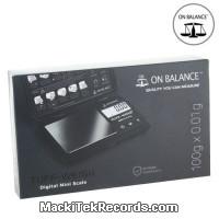 Balance Electro Tuff-100 100-0.01GR Noir