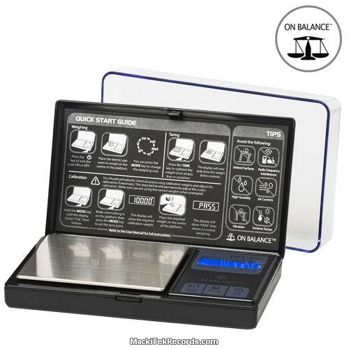 Balance Electro DZT 100-BK 100-0.01GR