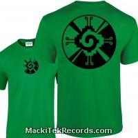 Tshirt Green Hunab Ku