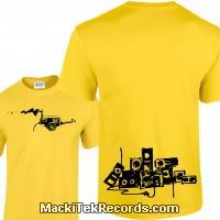 Tshirt Jaune Generator Of Sound