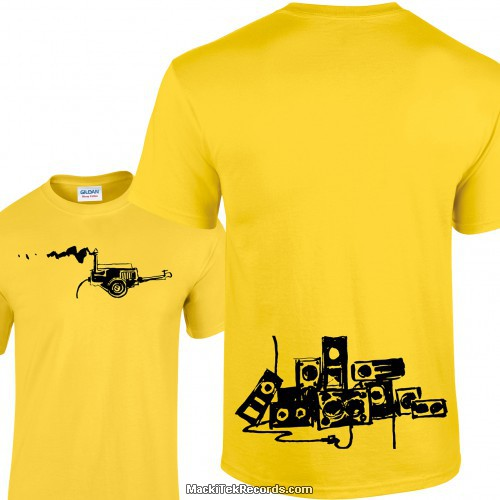 Tshirt Jaune Generator Of Sound