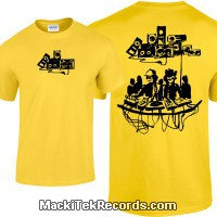 Tshirt Yellow MackiTek Underground