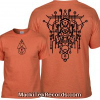 Tshirt Orange Alchemy 2