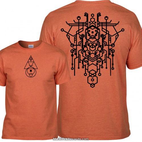 Tshirt Orange Alchemy 2