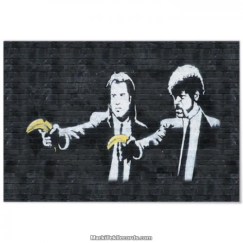 Bache Banksy Pulp Fiction