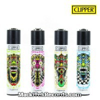 x4 Briquet Clipper Aztec Face