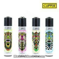 x4 Briquet Clipper Aztec Face