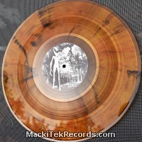 MackiTek Records 36 Orange Black Marbred LTD