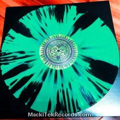MackiTek Records 39 Green Black Erupt LTD