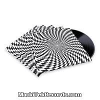 x5 Pochettes Psychedelik Black and White