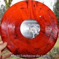 MackiTek Records 38 Red Black Marbred