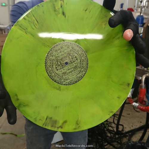 MackiTek Records 40 Green Marbred LTD
