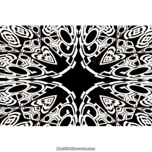 Tenture Psyche TEV003 Black White
