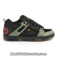 DVS Comanche Black Olive Orange Nubuck