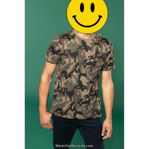 Tshirt Camo Uni
