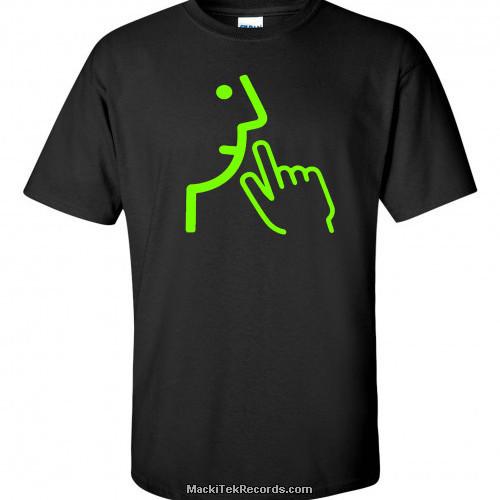 T-Shirt Noir MackiTek 3672 V1 Green