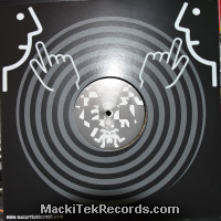 Mackitek Records 25 RP V2 Ultraclear Black Marbred LTD