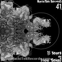 MackiTek 41 - 15 Years of FreeTekno Ultraclear Black Marbred LTD