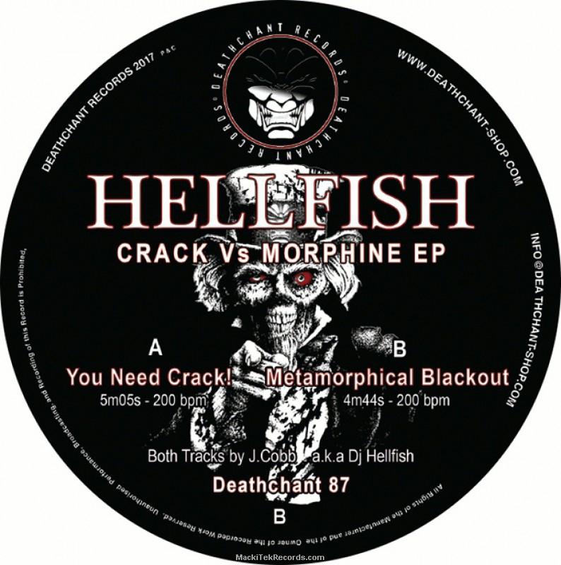 Deathchant 87 - Hellfish - MackiTek Records Shop - The Underground